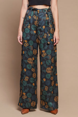 Imperial Clouds Belted Trouser