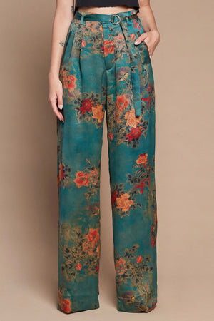 Muddy Thorns Belted Trouser