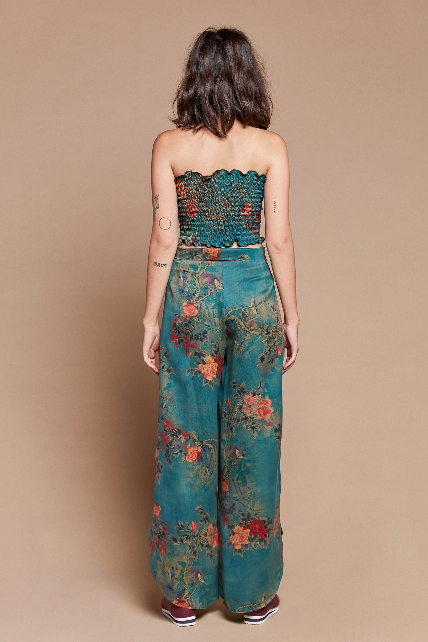 Muddy Thorns Petal Pants
