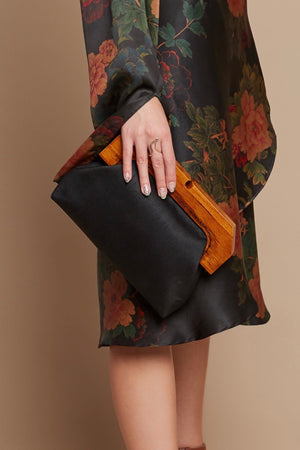 Black Turtle Clutch
