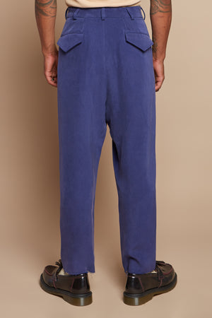 Royal Blue Drop Crotch Pant