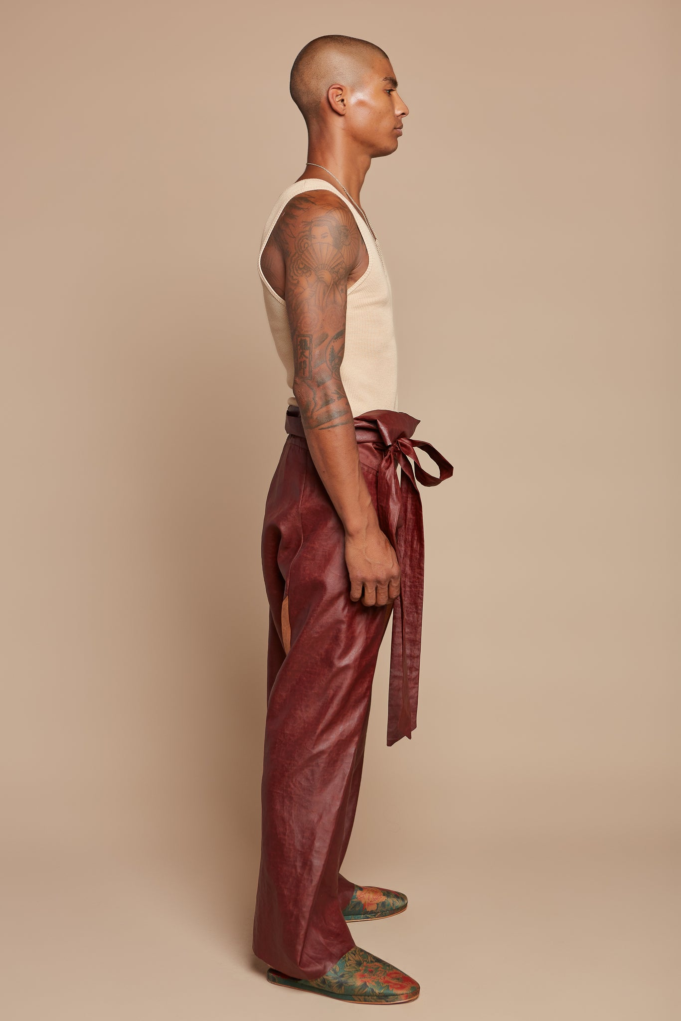 Rust Traditional Asian Pant