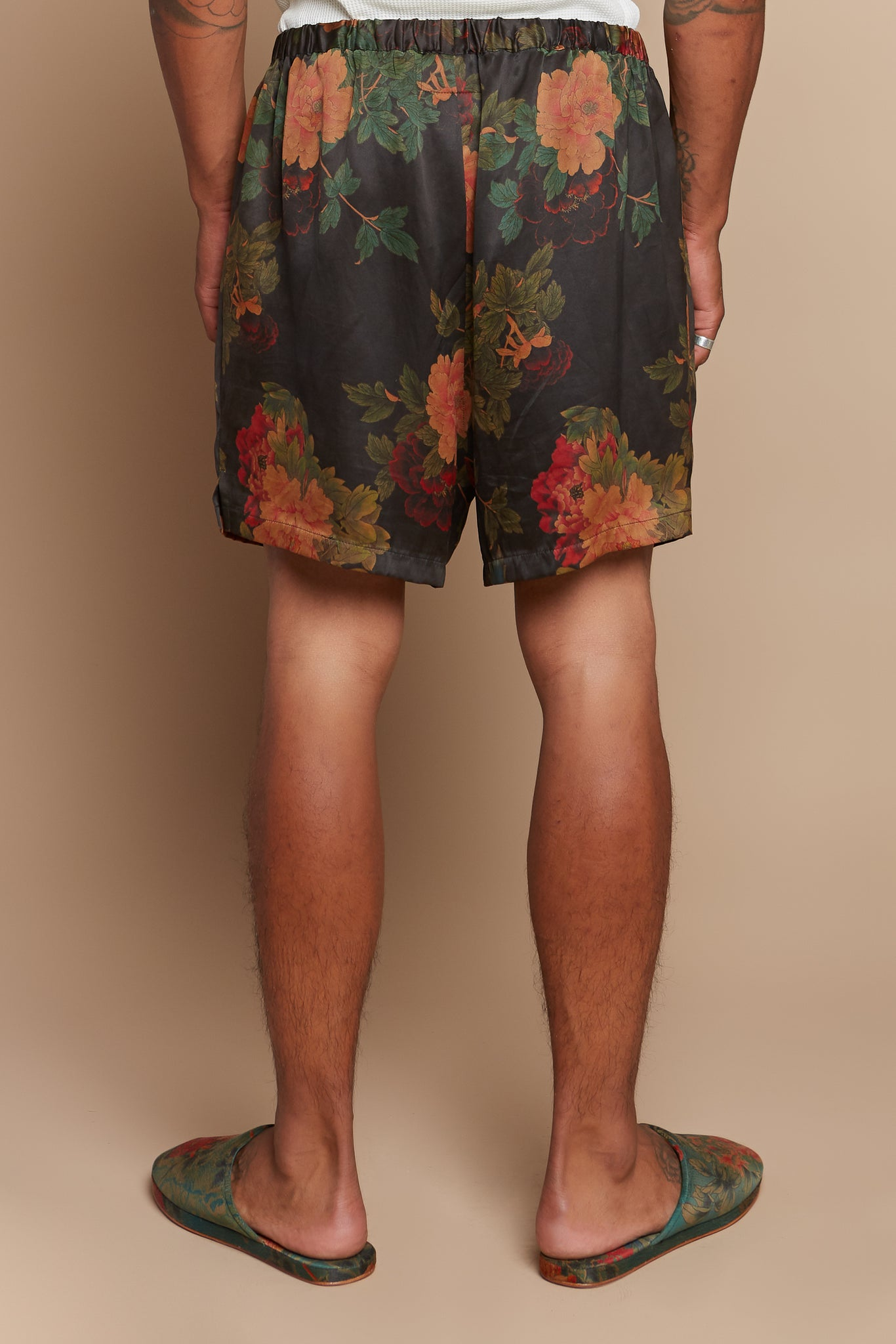 Black Dahlia Boxer Shorts