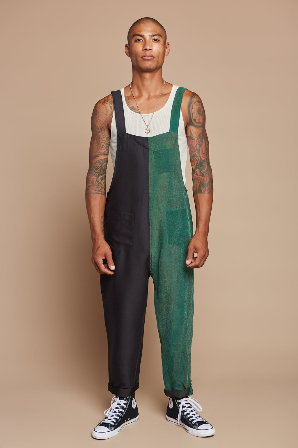Green Turtle Laid Back Overalls
