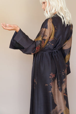 Lovers Crane Long Robe