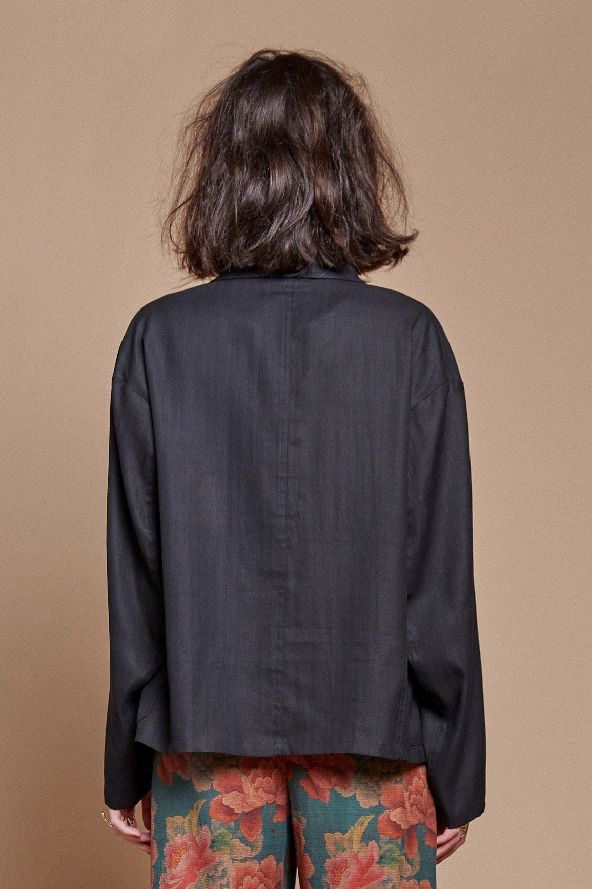 Black Night Chore Overshirt