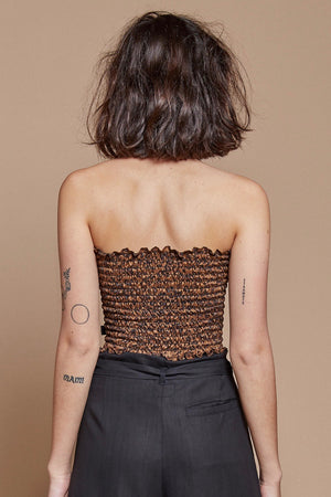 Leopard Tube Top