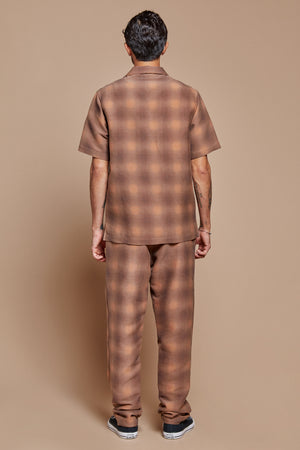 Shadow Plaid Lounge Pant
