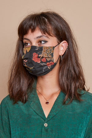 Midnight Garden Reversible Facemask
