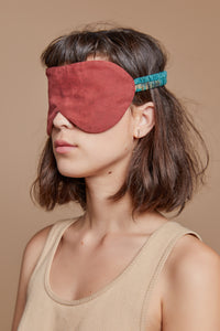 Red Turtle Reversible Eyemask