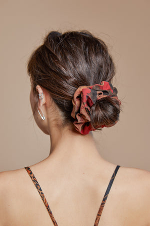 Crimson Scrunchie
