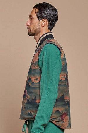 Mountain Reversible Vest Jacket