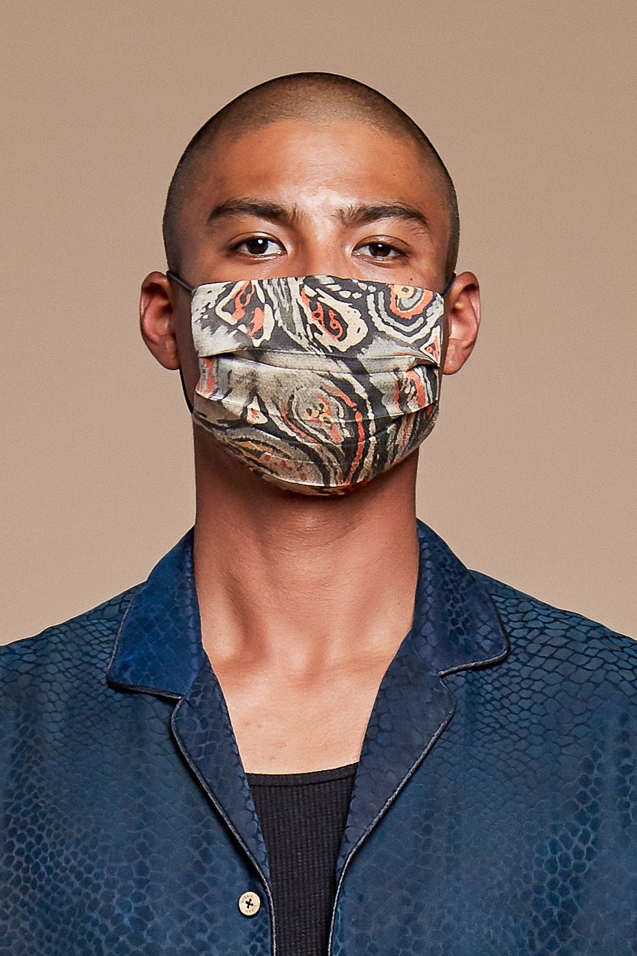 Paisley Reversible Facemask