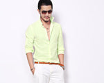 Linen Slim Fit Casual Shirt