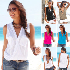 Tank Tops Sleeveless Sexy Casual Beach Tanks