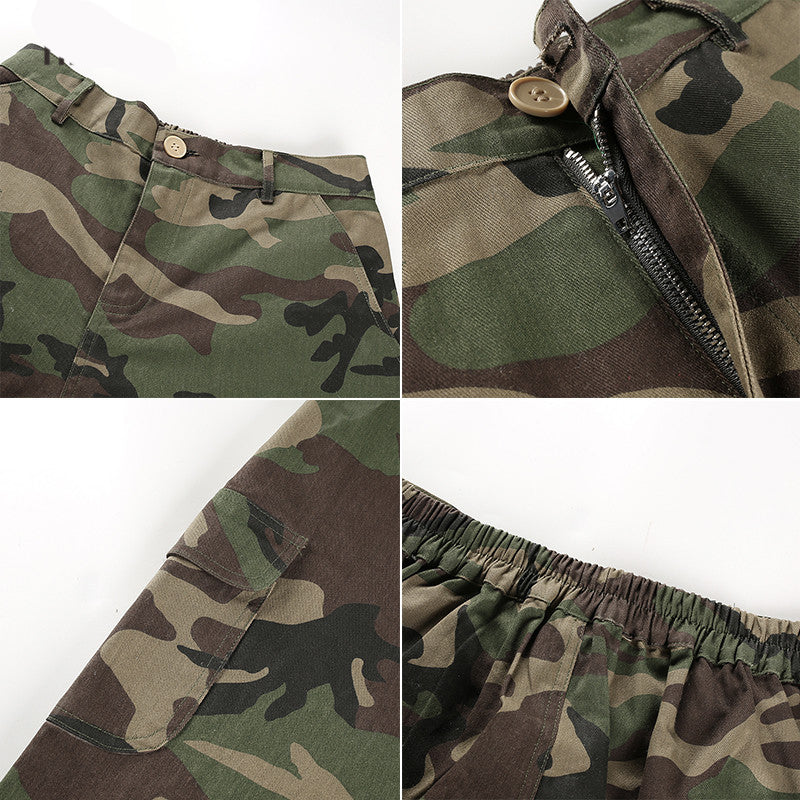 Camouflage Casual Trousers