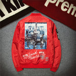 Urban Bomber Jacket with graphic print