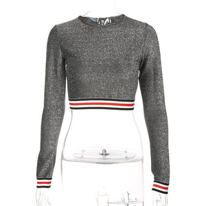 Sweatshirts Crew-Neck Knitted Pullover