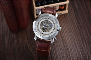 Luxury Automatic Mechanical Skeleton Watches