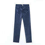 PU Full Brushed Elastic Waist Stretch Pants