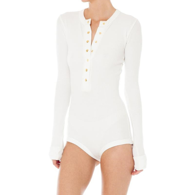 Casual bodysuit with long sleeve
