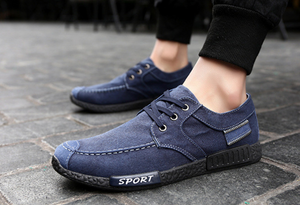 Denim canvas casual shoes