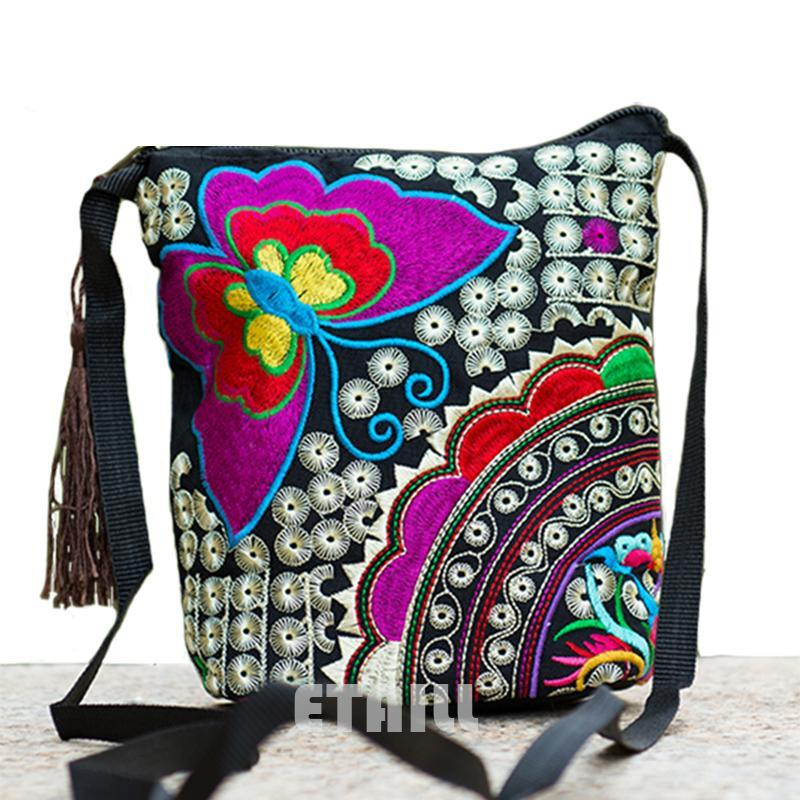 Embroidered Shoulder Bags