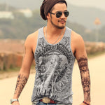 High Quality Tank Top with printed