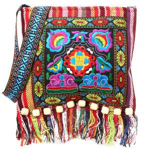 Embroidery Hill Tribe Totes Messenger Bag