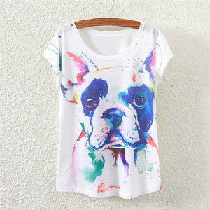 Fashion Summer Tees with print