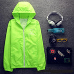 Windbreaker Fashion Jacket with Hooded