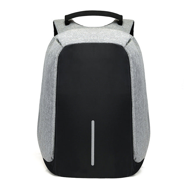 Anti Theft + Waterproof Travel Backpack With Usb charger