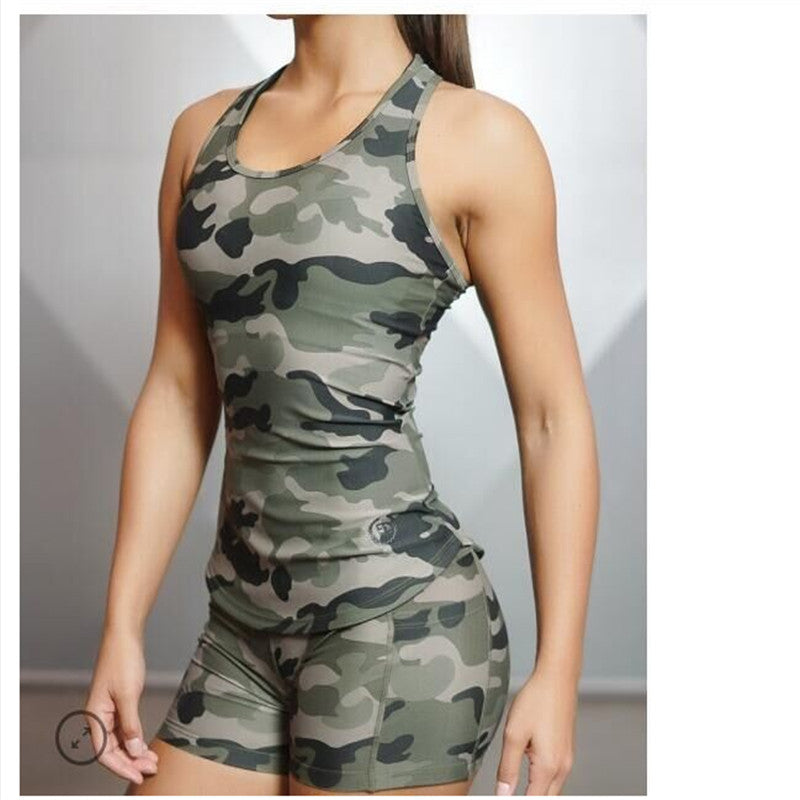 Tank Tops Camouflage