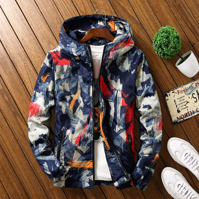 Camouflage Cotton Padded Jacket