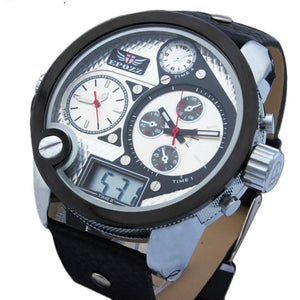Quartz sport watch Imported waterproof 30M digital clock
