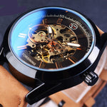 Luxury Mechanical Military Skeleton Watches