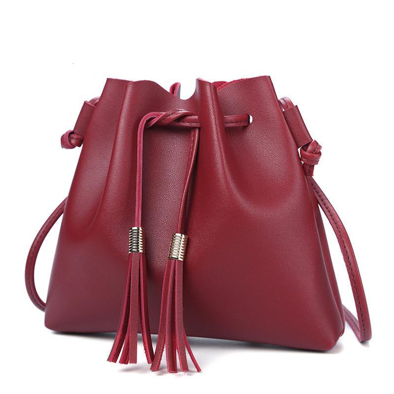 Tassel Bucket Handbags