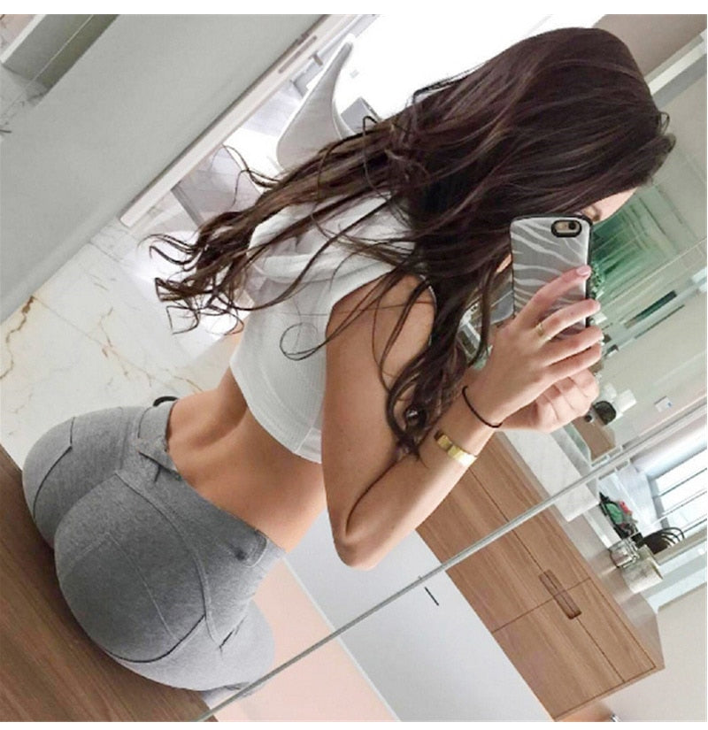 Low Waist Pants Fashion Elastic Leggings