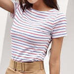 Casual Stripped T-Shirts
