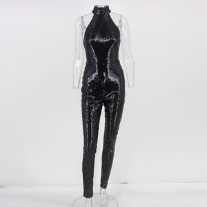 Sexy Sequin Jumpsuit