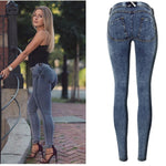 Low Waist Elastic leggings Jeans