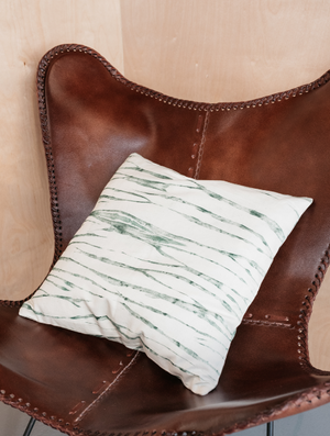 Latu Pillow: Basil