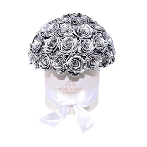 Round Flower Box -  Grandiose Metallic Edition
