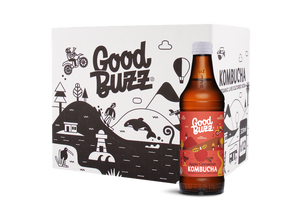 Apple Cinnamon Kombucha 328ml 12-pack