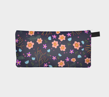 Load image into Gallery viewer, Floral Print Pencil Bag