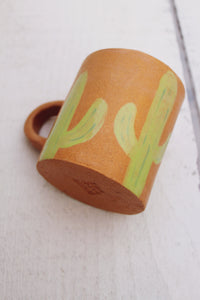 Saguaro Cactus Ceramic Coffee Mug