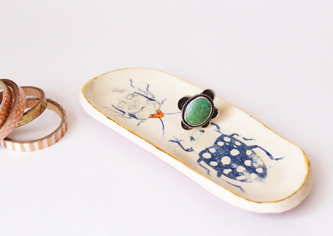 Bug Dish - small oval