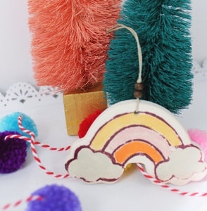 Sweet Rainbow Ornament