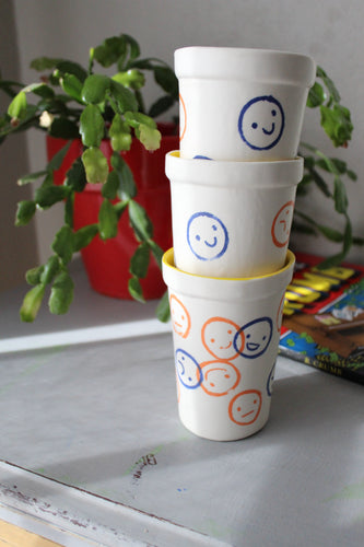Smiley Ceramic Tumbler