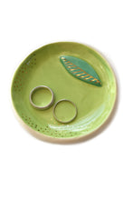 Load image into Gallery viewer, Golden Lime Citrus Trinket Dish